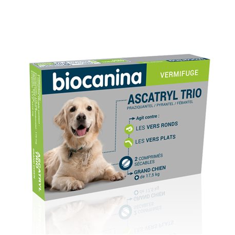 Biocanina ASCATRYL TRIO LARGE DOGS 2 TABLETS