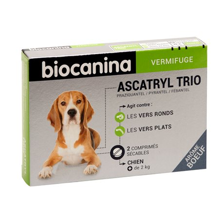 Biocanina ASCATRYL TRIO GOS 2 TAULETES