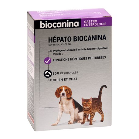 Hund und Katze HEPATO Biocanina 80G