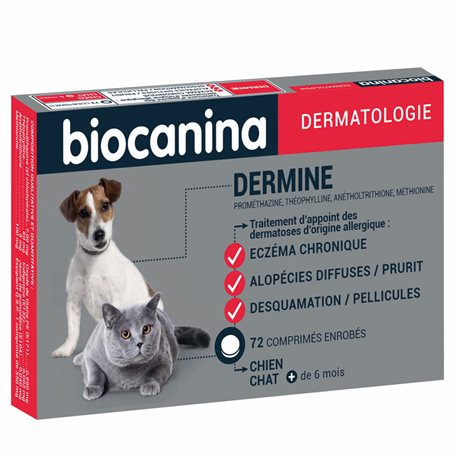 Biocanina Dermine 72 COMPRIMIDOS