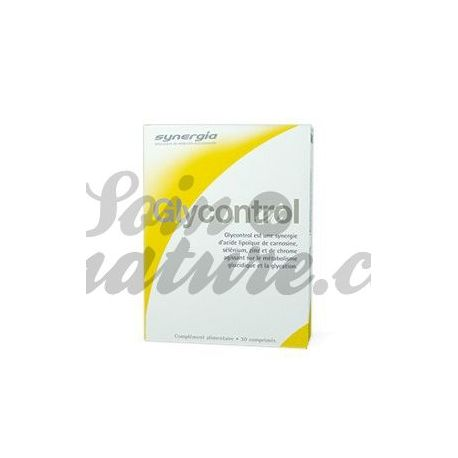 SYNERGIA GLYCONTROL 30 COMPRIMES