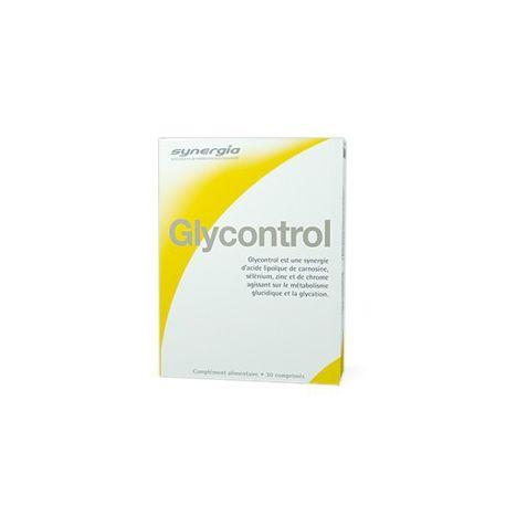 SYNERGIA GLYCONTROL 30 TABLETAS