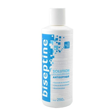 BISEPTINE ANTISEPTIQUE FLACON DE 250ML