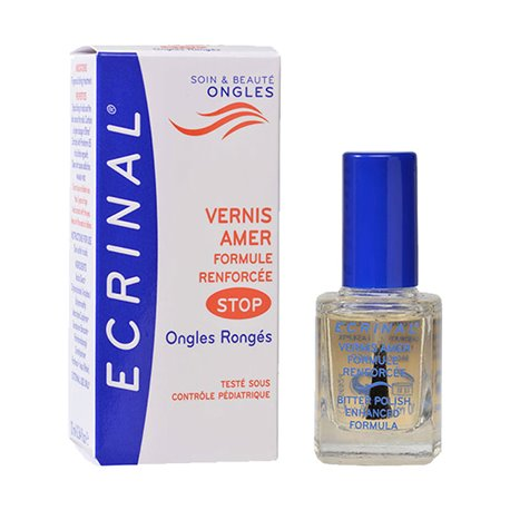 ECRINAL VERNIS AMER STOP ONGLES RONGES 10ML