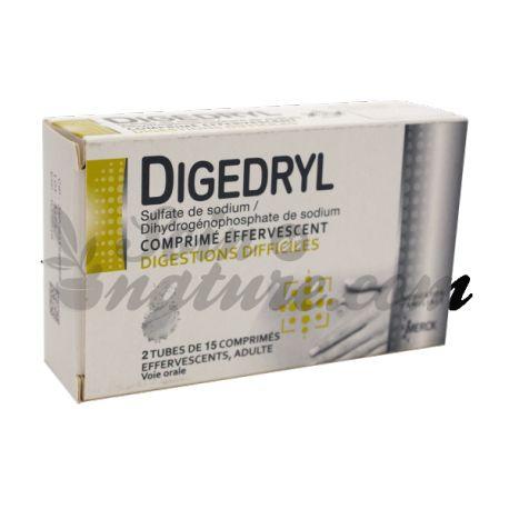 DIGEDRYL 30 COMPRIMES EFFERVESCENTS