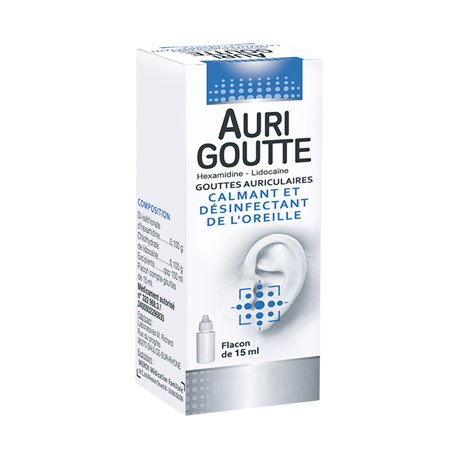 AURIGOUTTE EAR SOLUTION 15ML