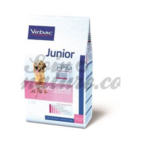 VIRBAC VETERINARY HPM CHIEN JUNIOR(8A18MOIS)SPECIAL LARGE