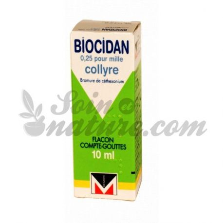 Biocidan 0,025% COLIRIO BOTELLA 10ML