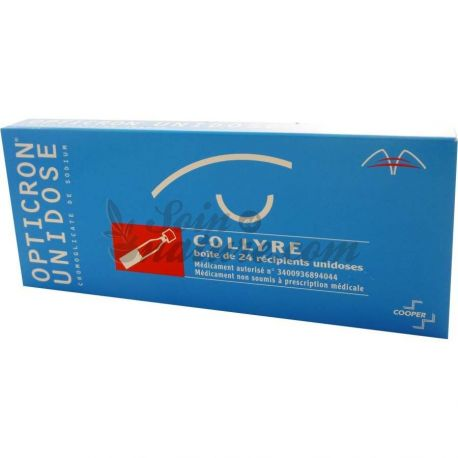 OPTICRON 2% COLLYRE 24 UNIDOSES
