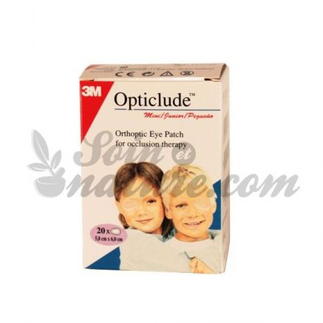 OPTICLUDE JUNIOR 20 PANSEMENTS ORTHOPTIQUE
