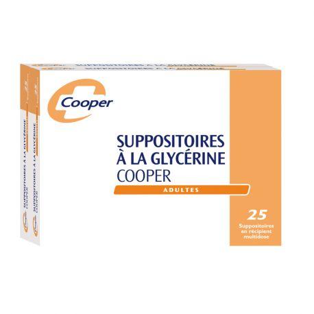 GLICERINA SUPOSITÓRIO ADULTO COOPER BOX 50