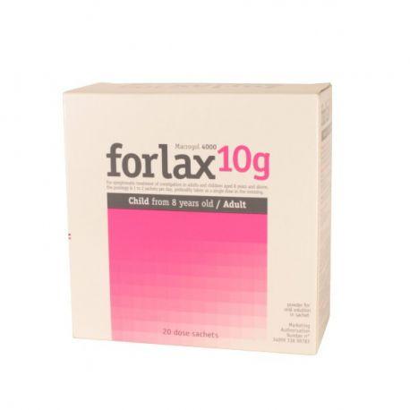 Forlax 20 sacos 10G