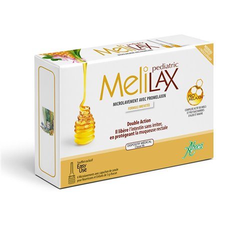ABOCA MELILAX pediátricos de 6 MICROLAVEMENTS