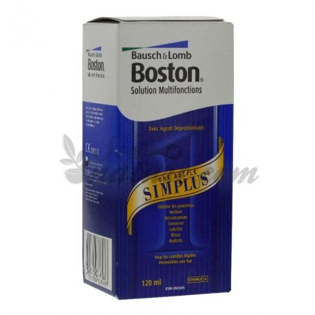 Bosch & Lomb BOSTON Simplus LENS HARD 120ml