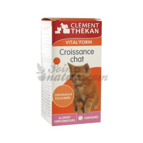 CLEMENT Thékan VITAL'FORM CHAT GROEI 60 TABLETTEN