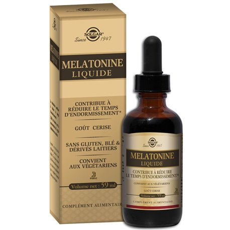 SOLGAR MELATONIN LIQUID 59ml