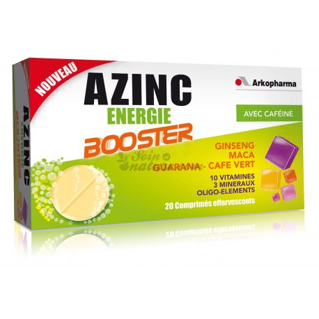 AZINC ENERGY BOOSTER 20 TABLETS
