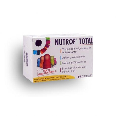 Nutrof TOTAL DE L'ULL què es refereix l'SUPLEMENT 60-180 CÀPSULES