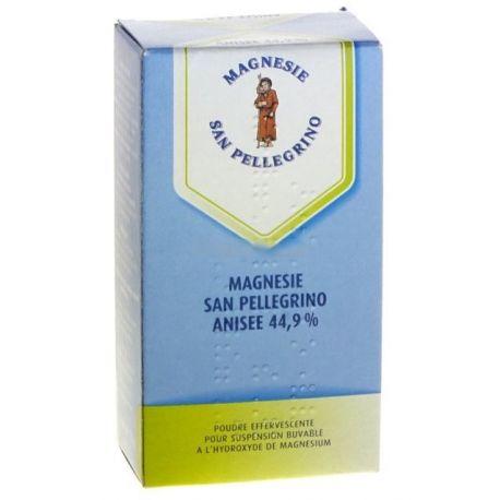 SAN PELLEGRINO anice Magnesia 44,9% POLVERE EFFERVESCENTE