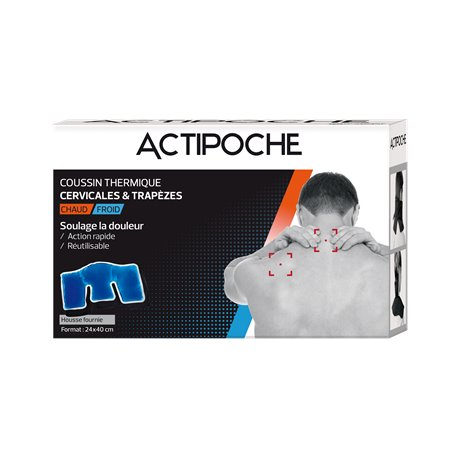 CERVICAL ACTIPOCHE / KEYSTONE POCKET HOT COLD 11X37CM