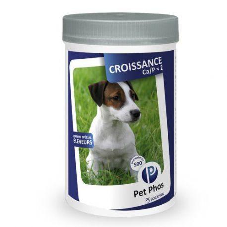 PET-PHOS CROIS CHIEN CAP2 500 COMPRIMES