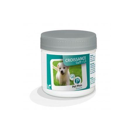 PET-PHOS CROISSANCE CHIEN CAP 1.3 100 COMPRIMES
