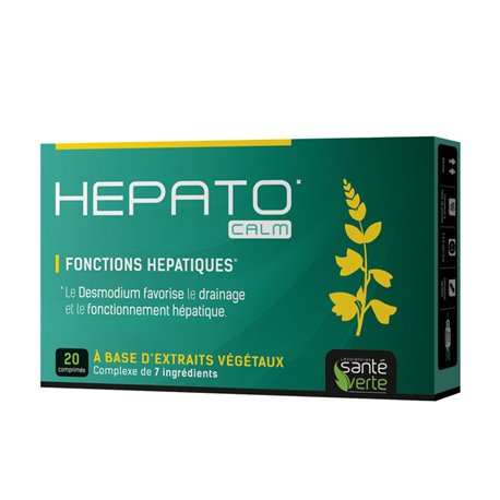 Santé Verte Hepato' Calm 20 Comprimés