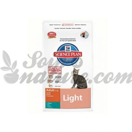 HILL'S SCIENCE PLAN FELINE ADULT LIGHT THON sac 1,5 kg