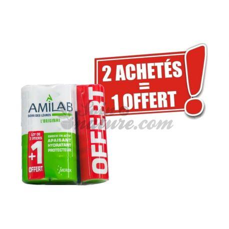 AMILAB STICK LEVRES PAS CHER - 2 Achetés 1 Offert