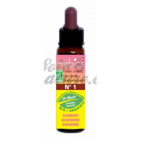 Agrimony Bach Flower Remedies 10ml