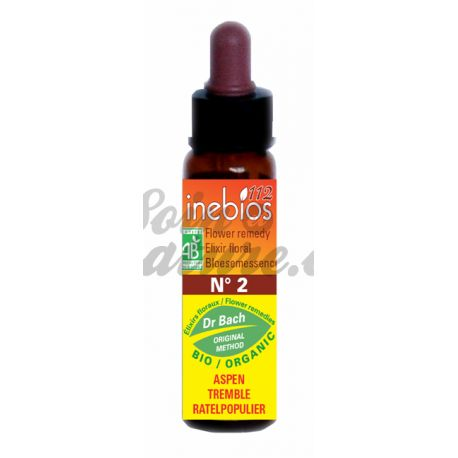 Bach Inebios Flower Remedies 10ml ASPEN Aspen