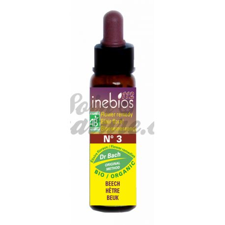 Beech Bach Flower Inebios Remedies 10ml BEECH