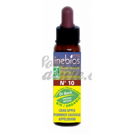 Fiori di Bach Inebios Crab Apple Crab apple 10ml