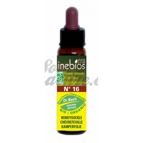 Flores de Bach Inebioses HONEYSUCKLE Remedios 10ml Honeysuckle