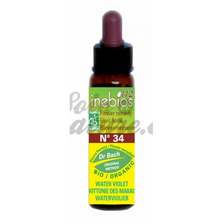 Bach flor Water Violet 10ml Water Violet Inebios