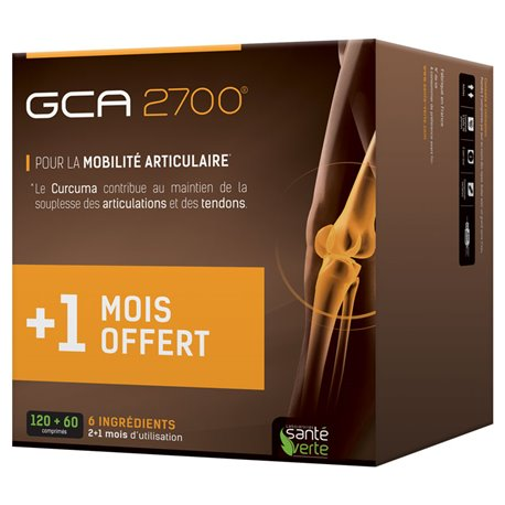 GCA 2700 SANTE VERTE 60 TABLETAS 2 COMPRADOS 1 Offered