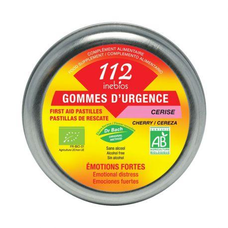 INEBIOS 112 DR BACH emergência Bonbon acerola orgânica