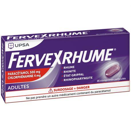 FERVEX COLD TAG UND NACHT 16 Tabletten ADULT UPSA