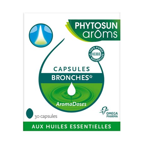30 Cápsulas Phytosun Bronches Aromadoses