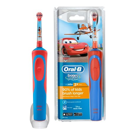 CARS ELECTRIC TOOTHBRUSH ORAL B STAGES POWER