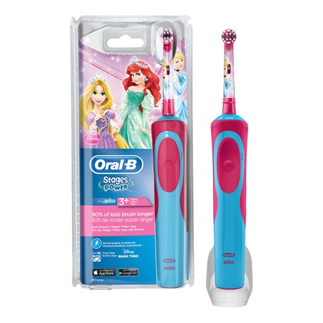 PRINCESS ELECTRIC TOOTHBRUSH ORAL B FASES DE ENERGIA