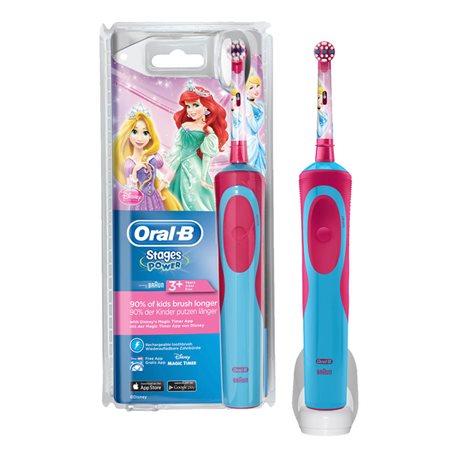 PRINCESS spazzolino da denti elettrico ORAL B stadi di potenza