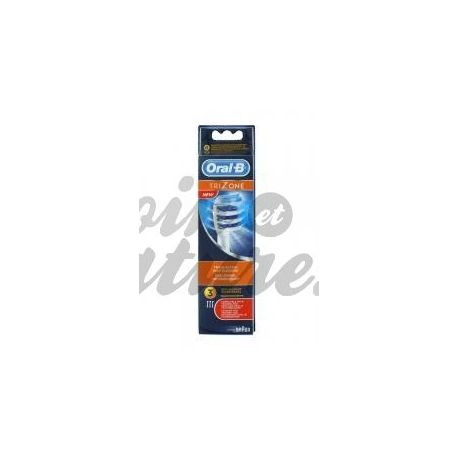 ORAL B TRIZONE EB30 RECHARGE BRUSH DENTAL SET OF 3