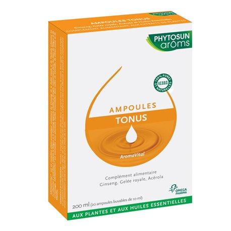 AROMA VITAL tons 10ml Phytosun 20 ampolas