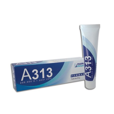 A 313 VITAMIN SALBE TUBE 50G