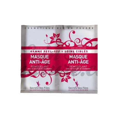 Masque Peel Off Anti Age Remodelant Secret des Fées