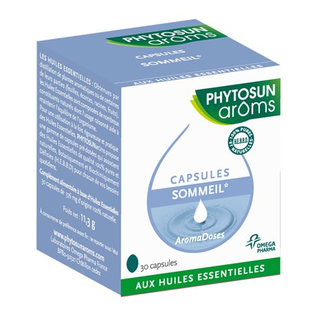 Phytosun Capsules Sommeil relaxation 30 Aromadoses