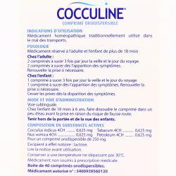 COCCULINE 40 CP HOMEOPATHIE BOIRON