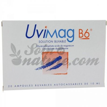 Uvimag B6 Oral solution 20 ampoules 10 ml