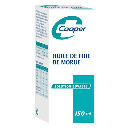 Levertraan 150 ml cooper